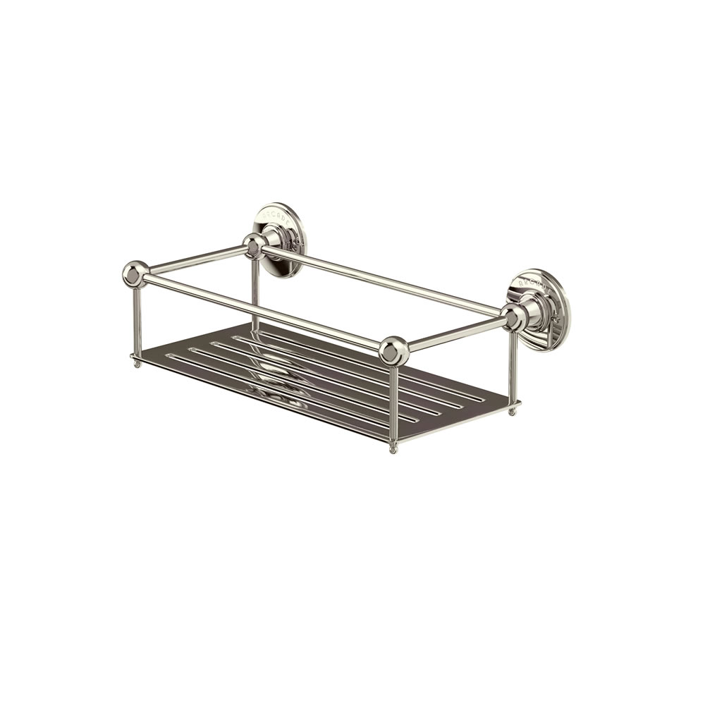 Arcade wall-mounted wire basket 62mm deep (155mm by 330mm)