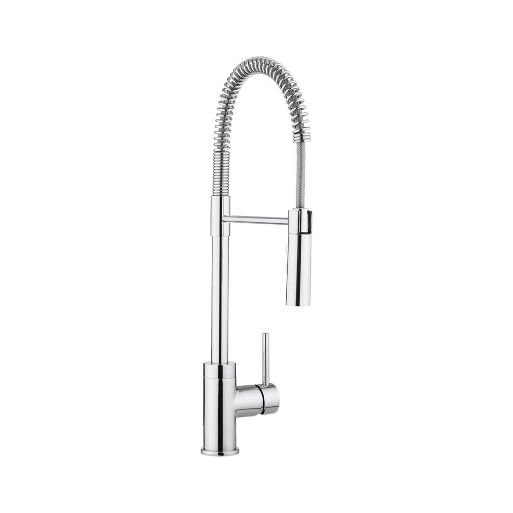 Cook Side Lever Kitchen Mixer with Flexi Spray