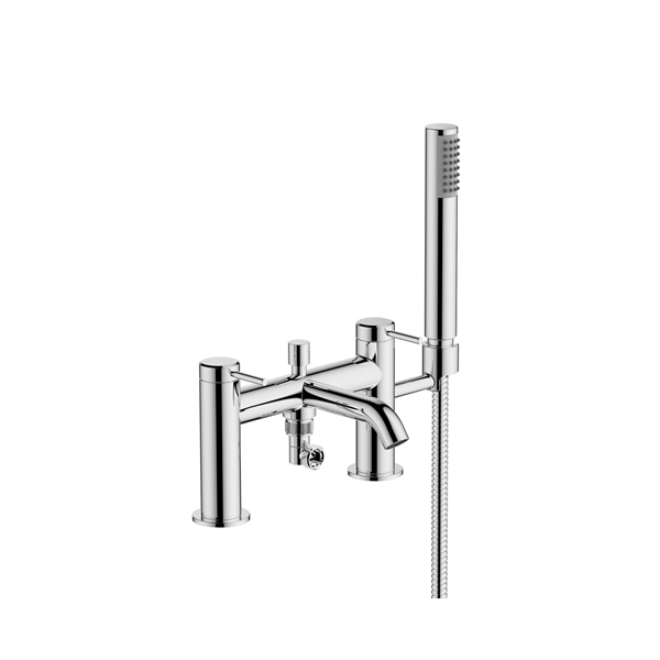 Hoxton Bath/Shower Mixer 2th Brushed Brass