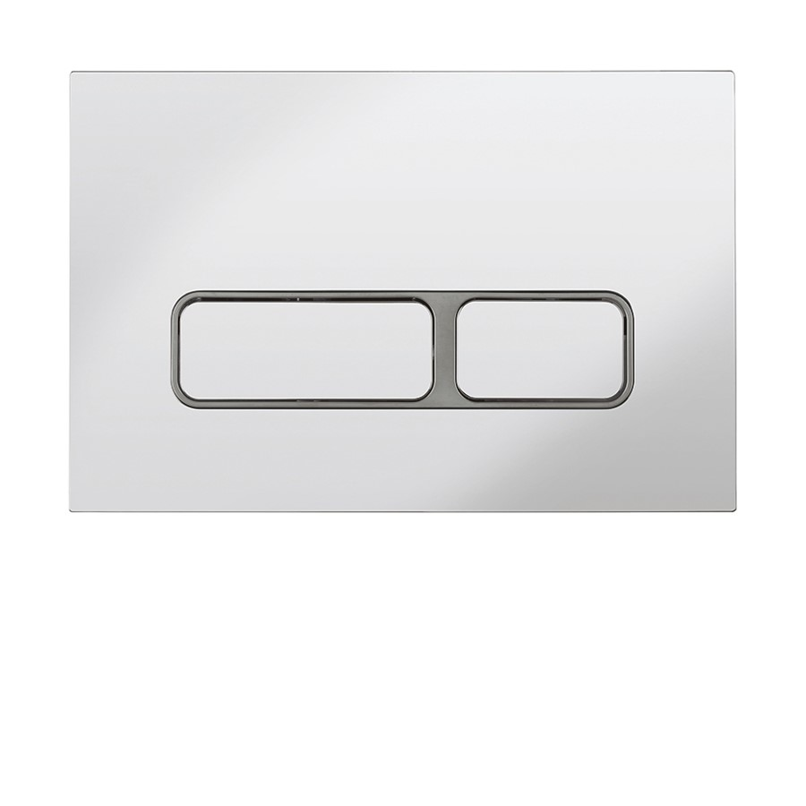 Pier Chrome Flush Plate