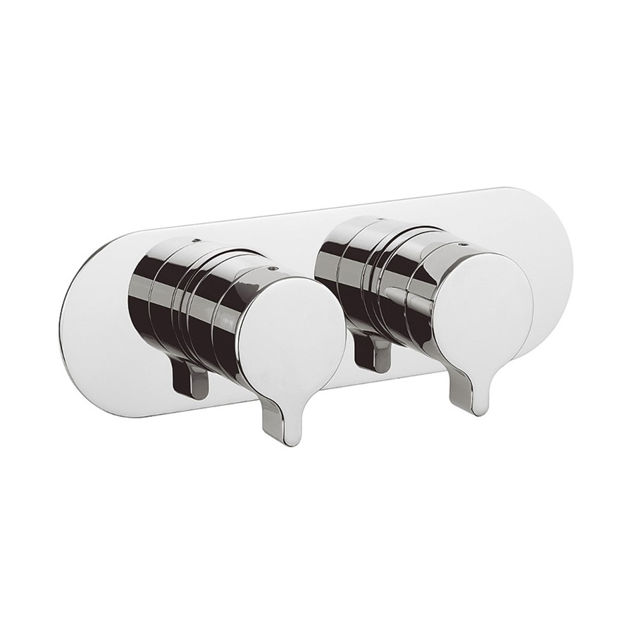 Svelte Thermostatic Shower Valve with 2 Way Diverter